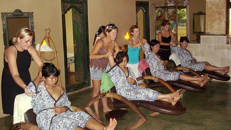 Sexy indonesian massage de hot porno